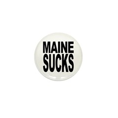 Maine Sucks Mini Button (10 pack)