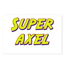 Super axel Postcards (Package of 8)