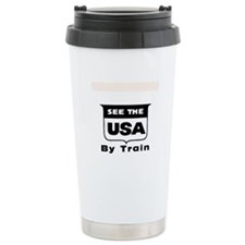 See The USA By Train ! Travel Mug