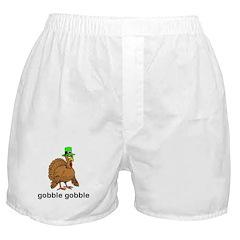 Thanksgiving Turkey Boxer Shorts