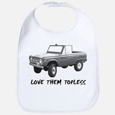Cute Ford bronco Bib