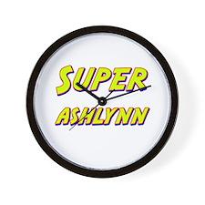 Super ashlynn Wall Clock