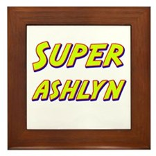 Super ashlyn Framed Tile