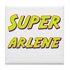 Super arlene Tile Coaster