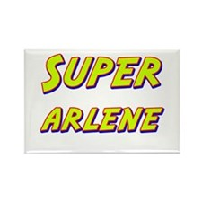 Super arlene Rectangle Magnet