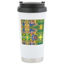 Psychedelic Pserpents Travel Mug