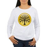 Tree In Amber Women's Long Sleeve T-Shirt