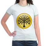 Tree In Amber Jr. Ringer T-Shirt