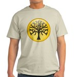 Tree In Amber Light T-Shirt