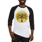 Tree In Amber Baseball Jersey