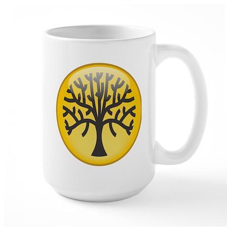 Tree In Amber Large Mug