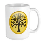Tree In Amber Large Mug