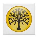 Tree In Amber Tile Coaster