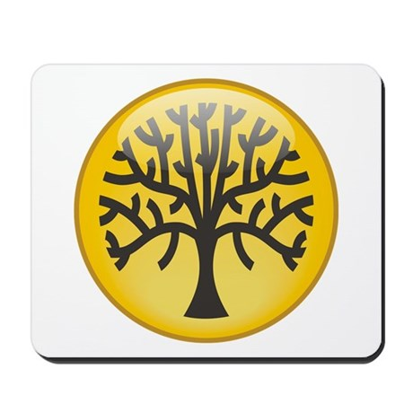 Tree In Amber Mousepad