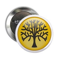 "Tree In Amber 2.25"" Button"