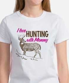 Hunting with Mommy Tee