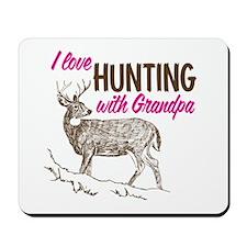 Hunting with Grandpa Mousepad