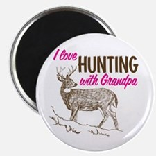 Hunting with Grandpa Magnet