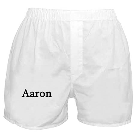 Aaron - Personalized Boxer Shorts