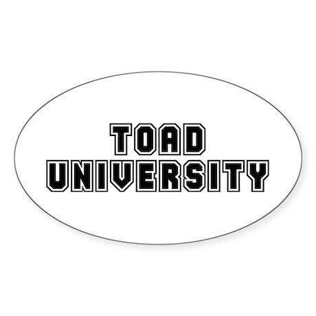 University Oval Sticker (10 pk)