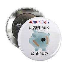 "America 's piggybank 2.25"" Button (10 pack)"