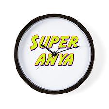 Super anya Wall Clock