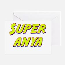 Super anya Greeting Card