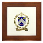MERCIER Family Crest Framed Tile