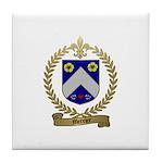 MERCIER Family Crest Tile Coaster