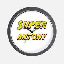 Super antony Wall Clock