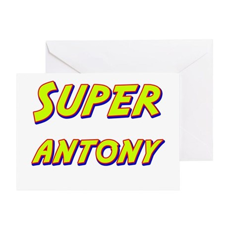 Super antony Greeting Card