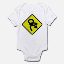 Confused Infant Bodysuit