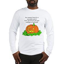 Genealogy Halloween<br> Long Sleeve T-Shirt