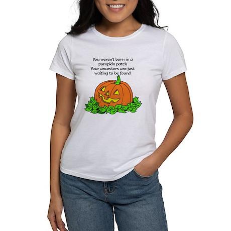 Genealogy Halloween<br> Women's T-Shirt