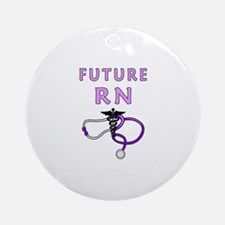 Nurse Future RN Ornament (Round)