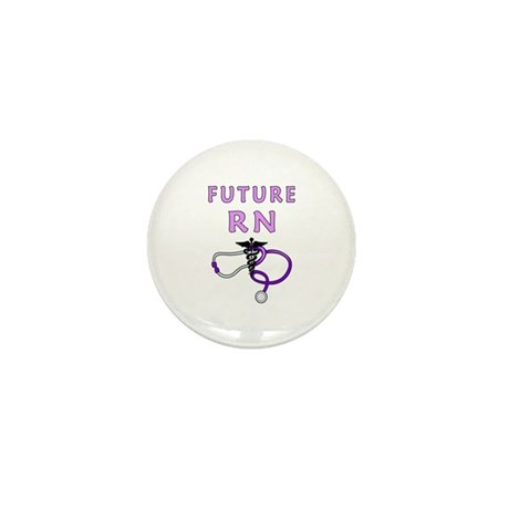 Nurse Future RN Mini Button (100 pack)