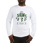 Visconti Family Crest Long Sleeve T-Shirt