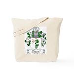 Visconti Family Crest Tote Bag