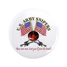 """ARMY RANGER SNIPER 3.5"""" Button"""
