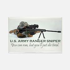 ARMY RANGER SNIPER Rectangle Magnet
