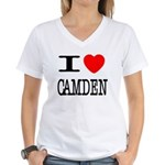 I (Heart) Camden Women's V-Neck T-Shirt