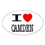 I (Heart) Camden Oval Sticker (50 pk)