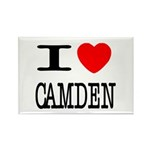 I (Heart) Camden Rectangle Magnet (100 pack)