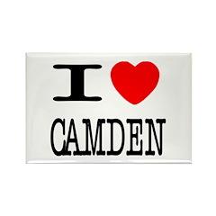 I (Heart) Camden Rectangle Magnet