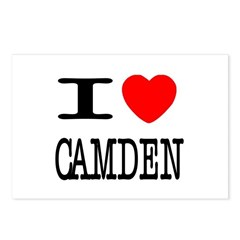I (Heart) Camden Postcards (Package of 8)