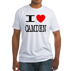 I (Heart) Camden Fitted T-Shirt