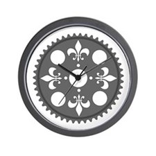 Fleur de Lee Chainring rhp3 Wall Clock