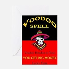 Vodoo Spell Greeting Card