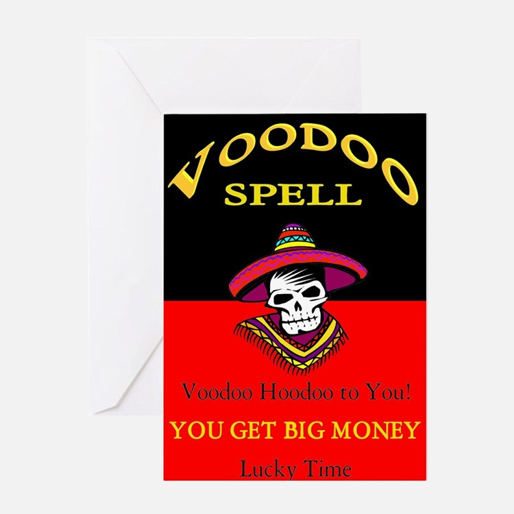 Vodoo Spell Greeting Card