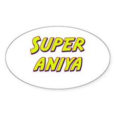 Super aniya Oval Decal